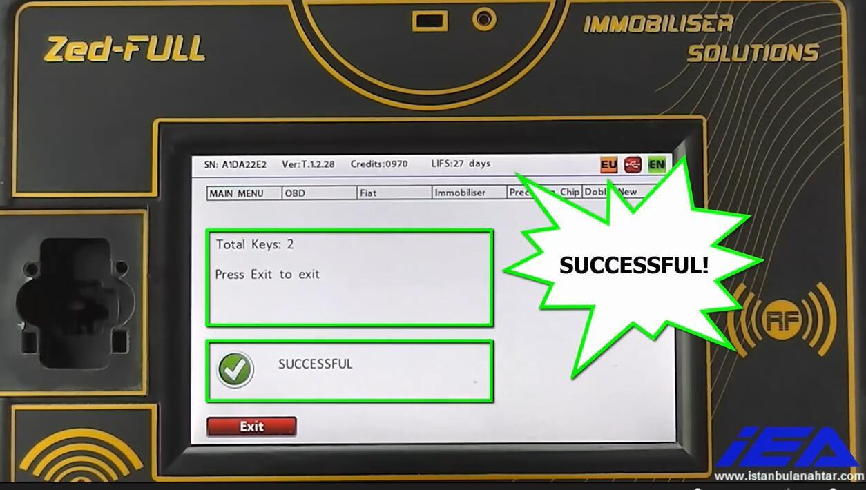 Zed-Full Add New Keys for Dodge Ram Promaster City (22)