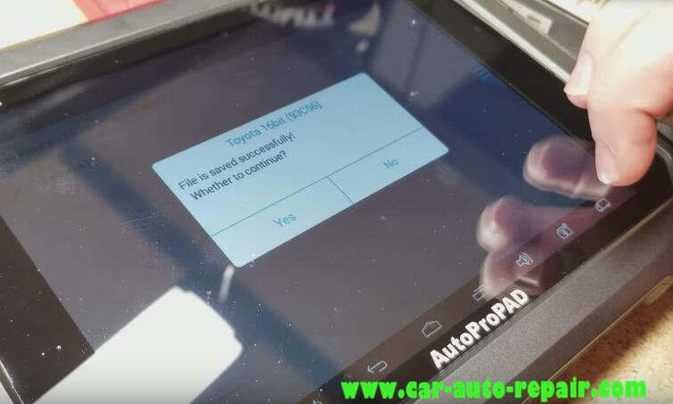 AutoProPAD ReflashInitialize Toyota Lexus Immobilizer System (17)