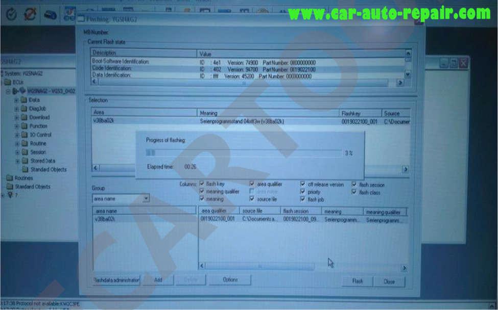 Benz 722.9 TCM EHS Programming & Coding by Vediamo (14)