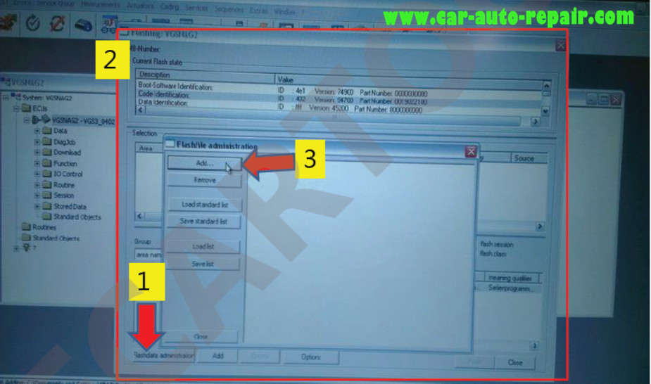 Benz 722.9 TCM EHS Programming & Coding by Vediamo (5)
