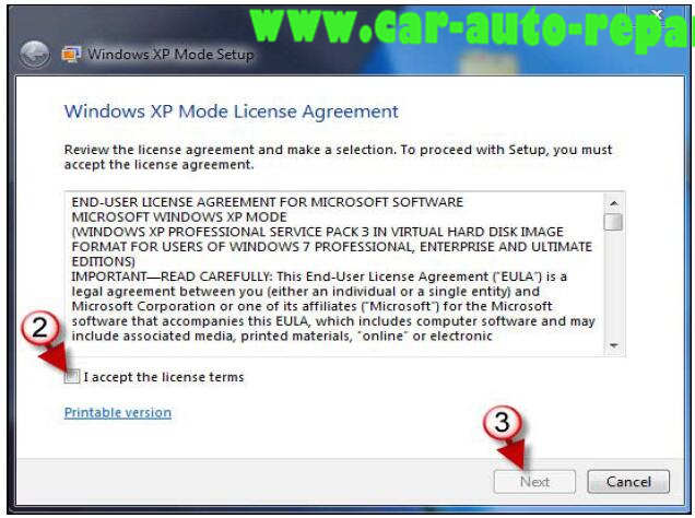 How to Install HHT-WIN on Window 7 by XP Mode (3)