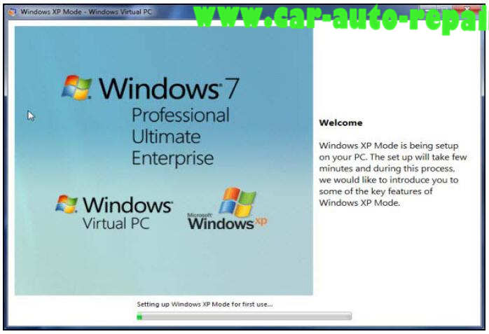 How to Install HHT-WIN on Window 7 by XP Mode (7)