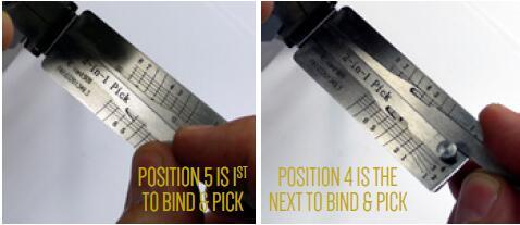 How to Pick Open VAG Audi,Seat HU66 Gen 1,2,3 Lock (7)