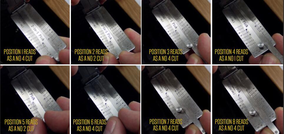 How to Pick Open VAG Audi,Seat HU66 Gen 1,2,3 Lock (9)