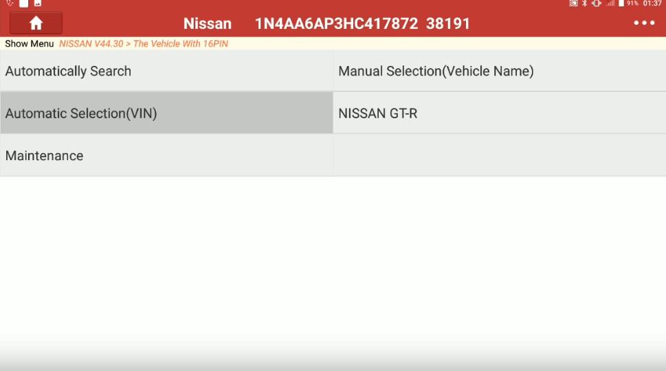 Launch X431 Torque Adjust Trailer Hitch Detection Range for Nissan Maxima (3)