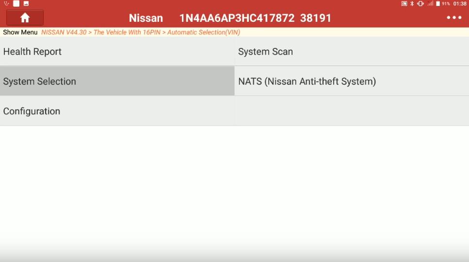 Launch X431 Torque Adjust Trailer Hitch Detection Range for Nissan Maxima (5)