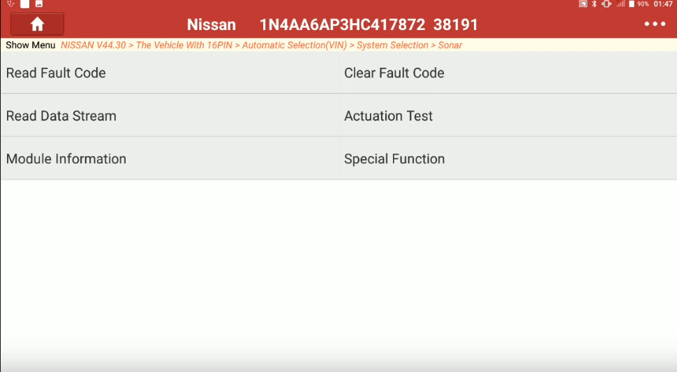 Launch X431 Torque Adjust Trailer Hitch Detection Range for Nissan Maxima (7)