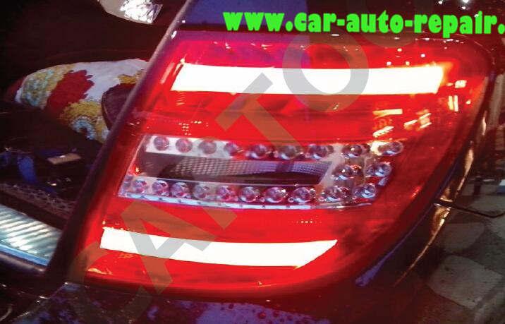 Mercedes Benz W204 Tail Lights Retrofit Coding by Vediamo (13)