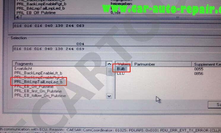 Mercedes Benz W204 Tail Lights Retrofit Coding by Vediamo (6)
