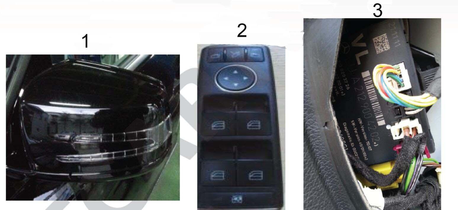 Vediamo Activate SA500 Auto Fold Mirror Retrofit for Mercedes Benz (1)