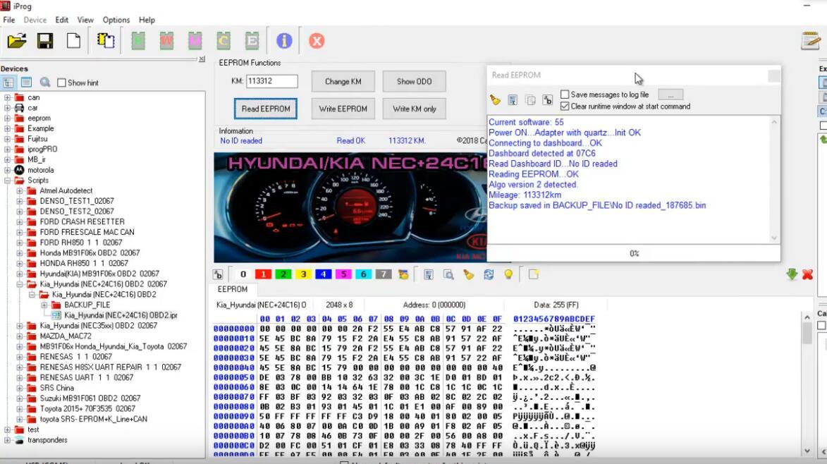 iProg Pro Change Odometer for Hyundai NEC+24C16 (2)