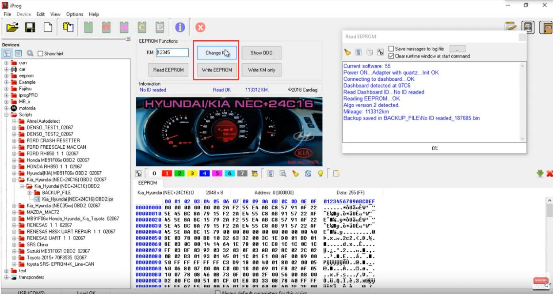 iProg Pro Change Odometer for Hyundai NEC+24C16 (3)