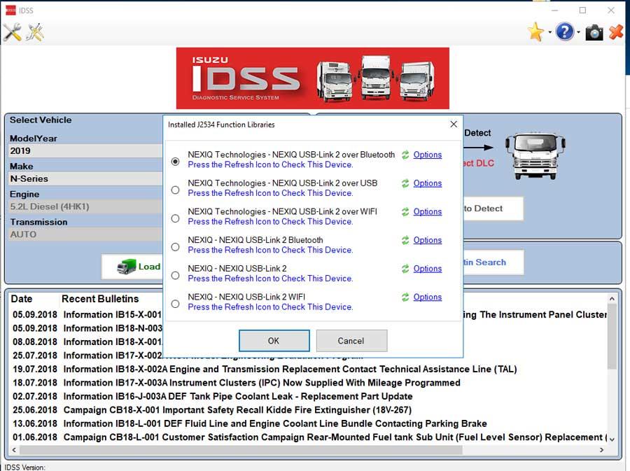 Isuzu G-IDSS Export 2019 Diagnostic Software Free Download