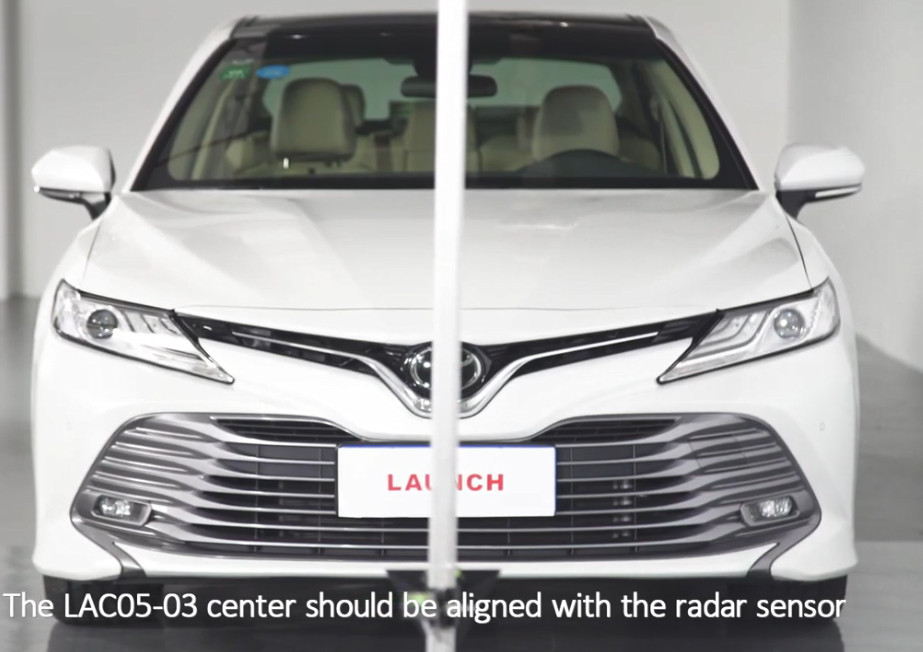 Toyota Camry 2019 Front Camera Calibration (11)
