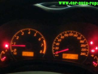 Toyota Corolla 2012 Airbag Crash Data Reset by Super Pro 610P (1)