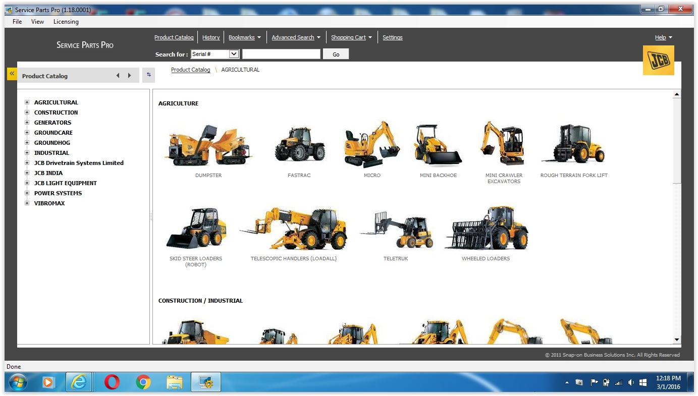 JCB Parts Plus+ and Repair Service Manual Free Download