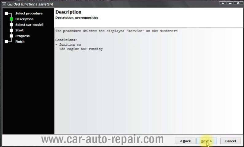 VCP Clear Inspection Service Massage for VW PQ35 46 Audi A3 A6 (3)