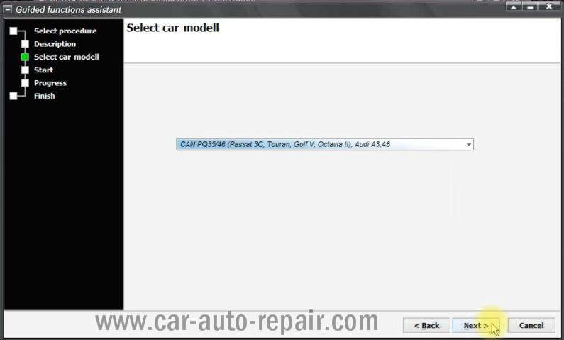 VCP Clear Inspection Service Massage for VW PQ35 46 Audi A3 A6 (4)