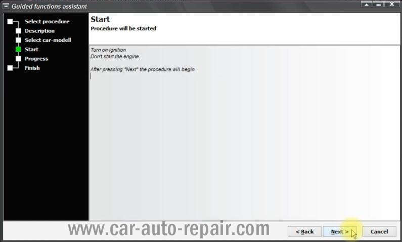 VCP Clear Inspection Service Massage for VW PQ35 46 Audi A3 A6 (5)