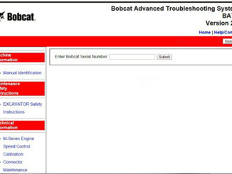 Bobcat Advanced Troubleshooting System BATS-1