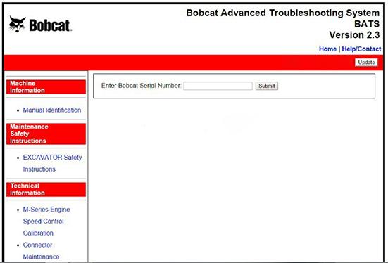Bobcat Advanced Troubleshooting System BATS-1