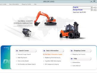 Daios Doosan EPC Excavator Part Catalog Download & Installation