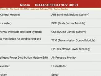 DisableActivate Retractable Mirror for Nissan Maxima (2)