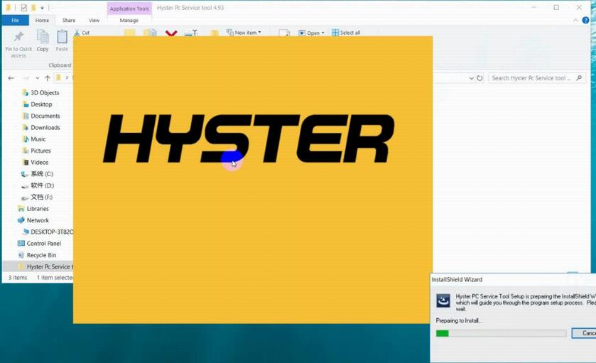 How to Install Hyster PC Service Tool V4.93 Diagnostic Software (2)