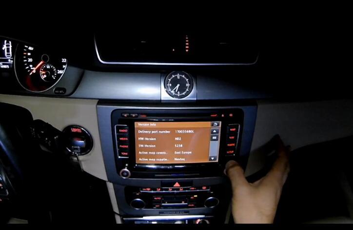 How to Update Volkswagen RNS510 Navigation Map (5)