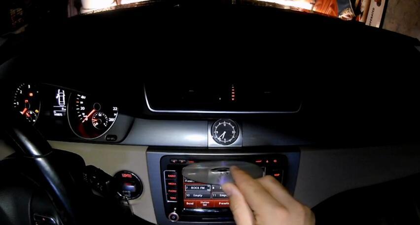 How to Update Volkswagen RNS510 Navigation Map (7)