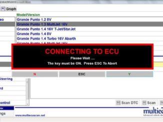 Multiecuscan Injector IMA Coding for Fiat Grande Punto 1.3 Multijet (2)