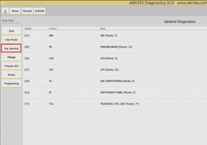 Renault Kadjar 2019 Keyless All Key Lost Programming by AVDI (3)