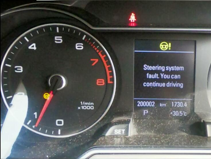 Audi-A4-Steering-System-Fault-Learning-Repair-B116854-1