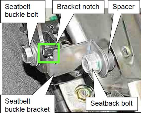 How-to-Install-Seatbelt-Buckle-Bracket-for-Nissan-Sentra-2013-9