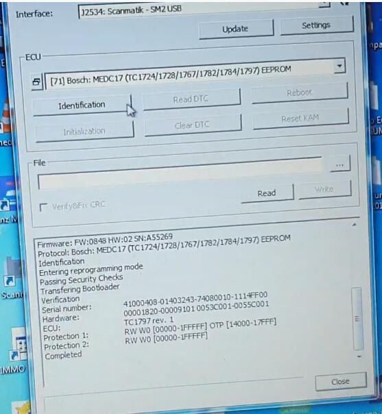 PCMflash-Read-Bosch-EDC17C45-EEPROM-Flash-Data-6