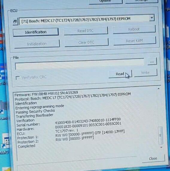 PCMflash-Read-Bosch-EDC17C45-EEPROM-Flash-Data-8