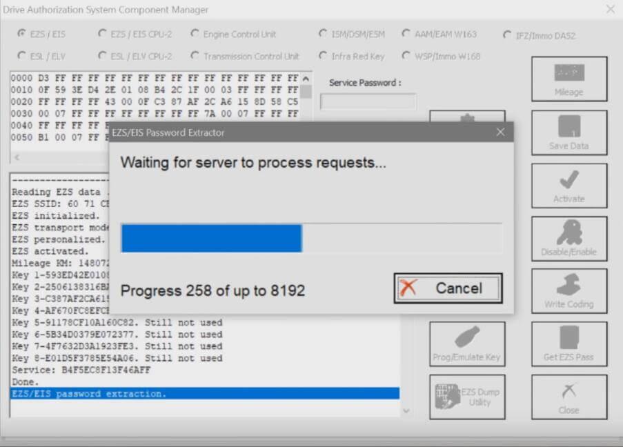 Benz-W221-All-Key-Lost-Programming-by-AVDI-Programmer-12
