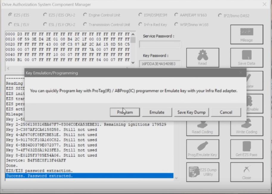 Benz-W221-All-Key-Lost-Programming-by-AVDI-Programmer-14