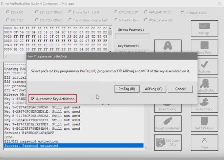 Benz-W221-All-Key-Lost-Programming-by-AVDI-Programmer-15