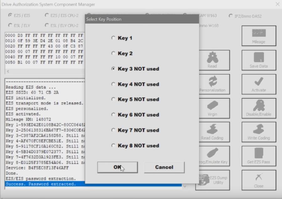 Benz-W221-All-Key-Lost-Programming-by-AVDI-Programmer-16
