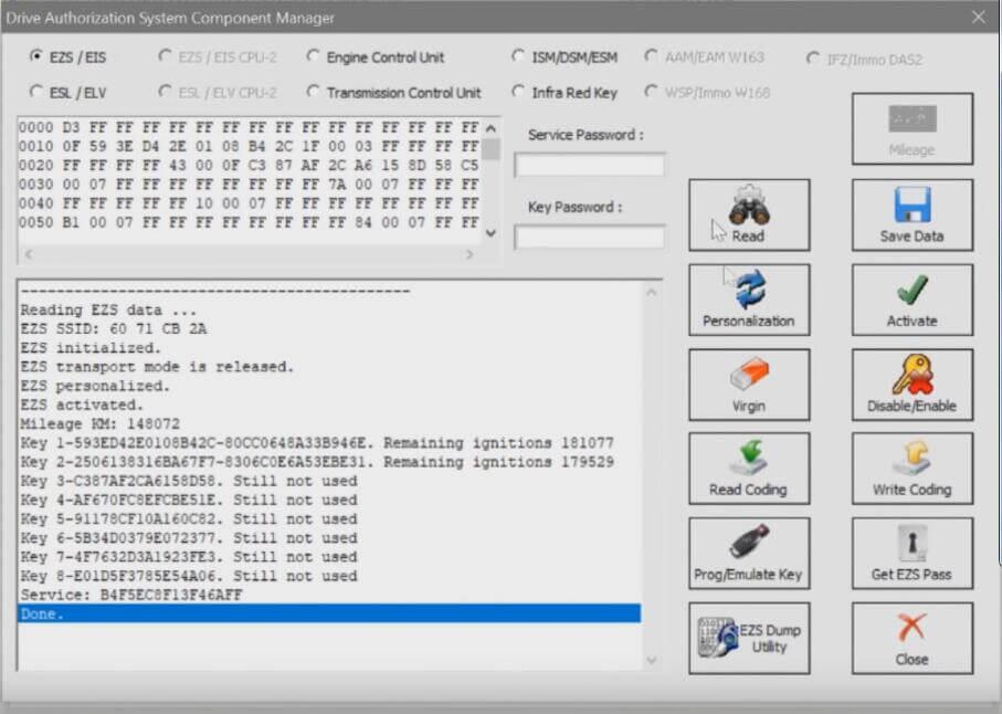Benz-W221-All-Key-Lost-Programming-by-AVDI-Programmer-5