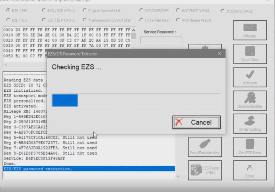 Benz-W221-All-Key-Lost-Programming-by-AVDI-Programmer-7