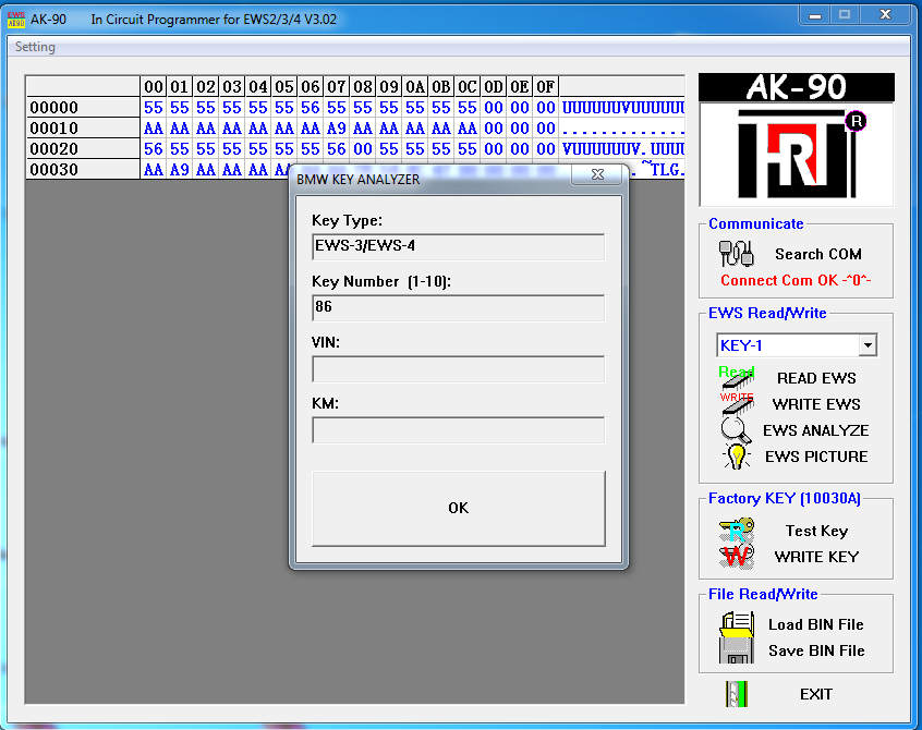 How-to-Use-AK90-Programmer-Add-Spare-Key-for-BMW-E46-8