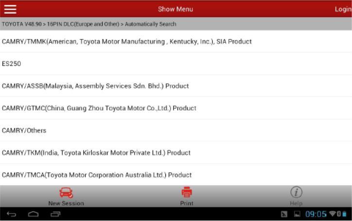 Lexus-ES250-Tire-Pressure-Sensor-Programming-by-Launch-X431-5