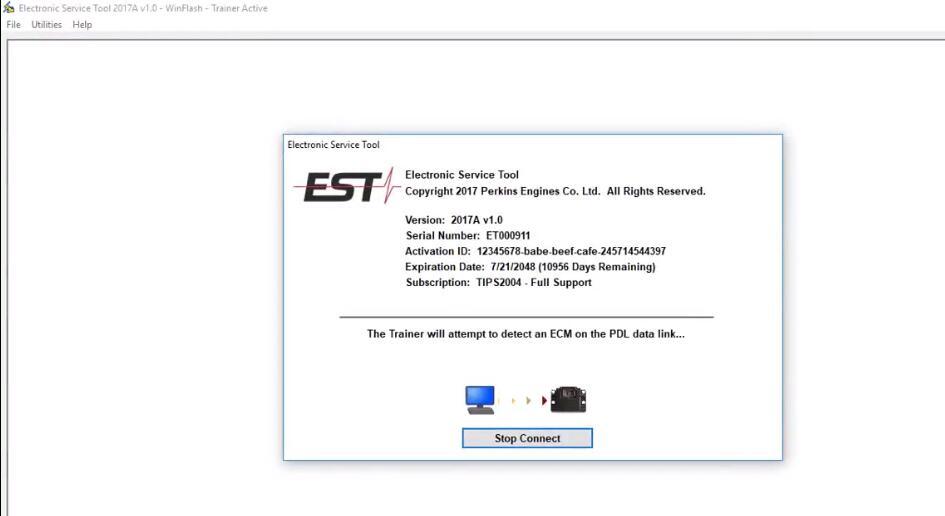 Perkins-2306C-E14-Engine-ECM-Flash-by-Perkins-EST-Diagnostic-Tool-3