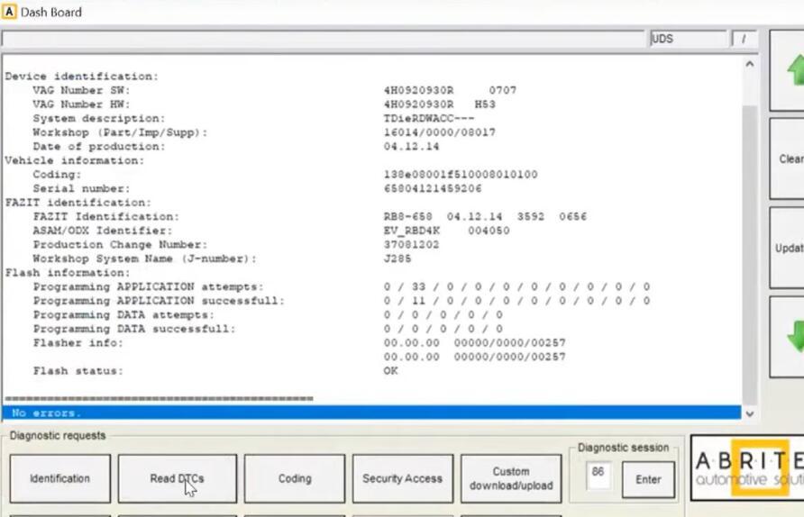 AVDI-Diagnostic-Remove-Component-Protection-for-Audi-A8-12