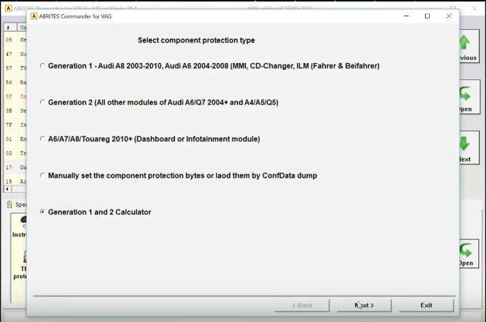 AVDI-Diagnostic-Remove-Component-Protection-for-Audi-A8-5