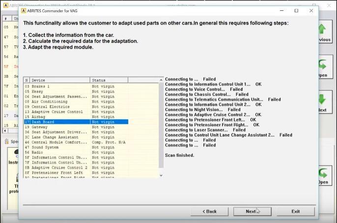 AVDI-Diagnostic-Remove-Component-Protection-for-Audi-A8-6
