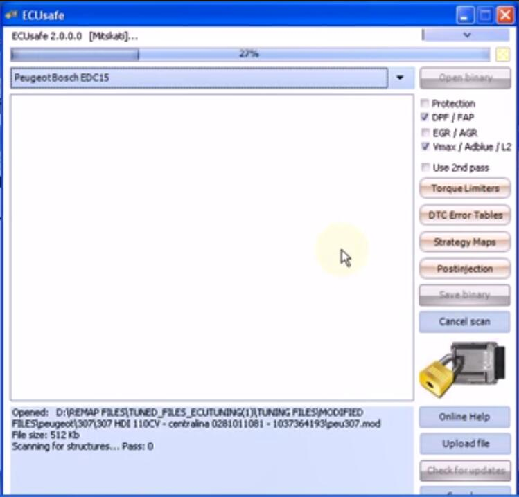 How-to-Remove-DPF-for-2003-Peugeot-307-HDI-by-ECUsafe-3