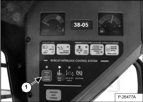 Bobcat-Loader-G-Series-A300-Hydrostatic-Pump-Calibration-Guide-8